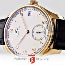 IWC Portugieser 43 mm Rotgold Acht Tage incl. USt. IW510204