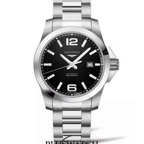 Longines Conquest 43mm Black Dial