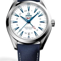 Omega Seamaster Aqua Terra 150m GMT Good Planet