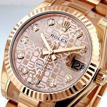 Rolex 178275 Midsize Datejust 31 Mm 18k Pink Rose Presidential...