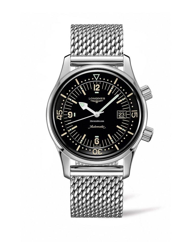 Longines Legend Diver L36744506 eladó 564 060 Ft Seller státuszú eladótól a  Chrono24-en 1302ec875a