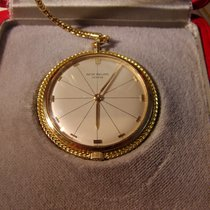 Patek Philippe Pendant watch, Clous de Paris with 18k rope chain
