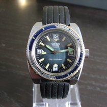 Oris Vintage Diver with extra steel strap