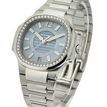 Patek Philippe 7008/1A-001 Nautilus Ladies 7008/1A with Blue...