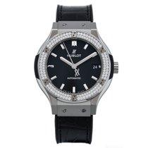 Hublot Classic Fusion - Titanium Diamonds Automatic
