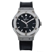 Hublot Classic Fusion - Titanium Diamonds Automatic