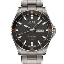 Mido Ocean Star Captain V Grey / Silver Titanium