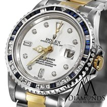 Rolex Diamond Rolex Submariner Two Tone 18k Gold Watch...