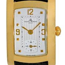 """Baume & Mercier Lady's 18K Yellow Gold  """"Hampton..."""