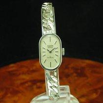 Anker De Luxe 835 Silber Handaufzug Damenuhr / Kaliber Int. 1980