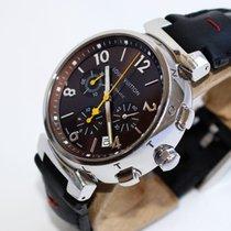 Louis Vuitton - Tambour Automatic Chronograph- Q1121 - Men -...