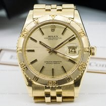 ロレックス (Rolex) 1625 Datejust Turn O Graph 18K Yellow Gold (24165)