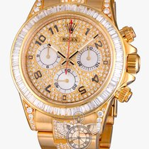 Rolex Cosmograph Daytona 40mm Yellow Gold Diamonds