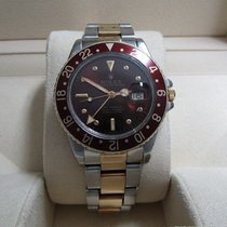 Rolex GMT-Master S/18K Yellow Gold/Root-Beer Bezel