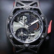 Hublot Big Bang  Techframe  Ferrari Tourbillon Chronograph [NEW]