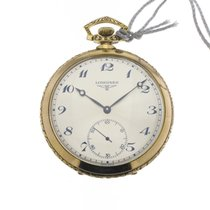 Longines orologio tasca argento vermeille /pocket watch