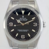 Rolex Explorer I 36mm Stainless Steel Black Dial REF: 14270