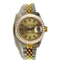 Rolex Datejust Lady's Model Steel and Gold Jubilee Band...