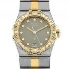 Chopard St. Moritz Stahl Gelbgold Diamond Quarz 25mm Ref.25/80...