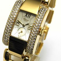 Chopard La Strada Xxl Damenuhr 18 Kt Gold 128 Brill. 2,56ct Fc...