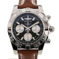 Breitling Chronomat 41 Chronograph Black Dial Cal. B01