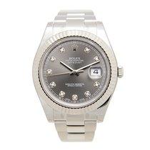 勞力士 (Rolex) Datejust II Platinum And Steel Gray Automatic...