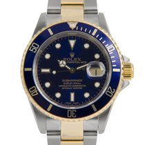 Rolex Submariner Steel & Gold Blue Dial (Gold in Clasp)...