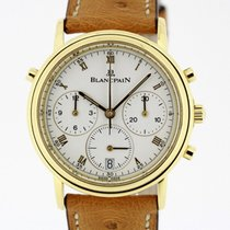 Blancpain Villeret Chronograph Rattrapante solid 18K Gold...