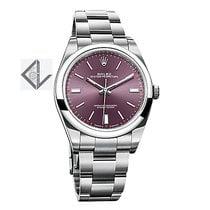 ロレックス (Rolex) Oyster Perpetual 39 Stainless Steel Watch Red...