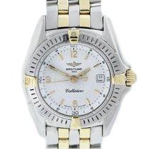 Breitling Callistino B52045 Two Tone Ladies Watch