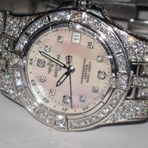 Breitling Starliner Stainless Steel Mother Of Pearl Diamonds