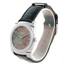 Rolex Cellini Cestello 18k White Gold Mop Dial Watch 5330 Box...