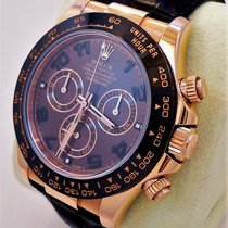 Rolex Daytona 116515 Ln 18k Rose Gold Cosmograph Chocolate...