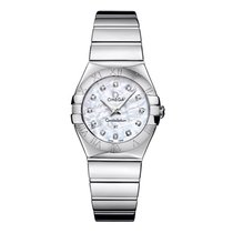 Omega Ladies 123.10.27.60.55.001 Constellation Quartz 27 mm Watch