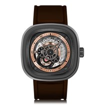 Sevenfriday P-Series Rose Gold Dial Automatic Mens Watch P2/01