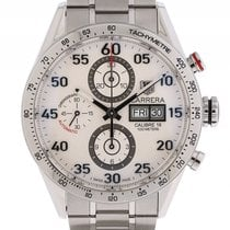 TAG Heuer Carrera Calibre 16 Day Date Stahl Automatik Chronogr...