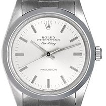 Rolex Men's Rolex Air-King Stainless Steel Watch 14000...