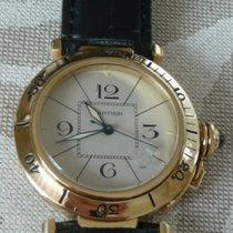 Cartier Pashá 18 kt. gold automatic 38 mm.