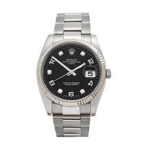 Rolex Oyster Perpetual Date Stainless Steel Gents 115234 - W3337