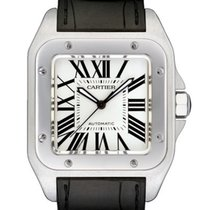 Cartier Santos 100 Stainless Steel Large Watch W20073X8