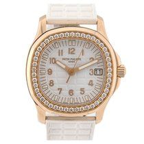 Πατέκ Φιλίπ (Patek Philippe) Aquanaut Rose Gold Diamond Bezel...