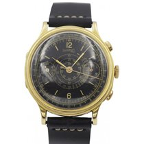 Eberhard & Co. Rare Eberhard & Co. 18k Yellow Gold...