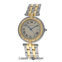 Cartier Ladies  Panthere Vendome 183964 Two Row Gold Steel