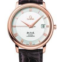 Omega De Ville Prestige Silver Dial Mens Watch