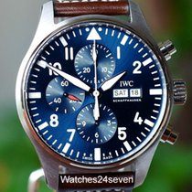 IWC Chronograph Calendar Petite Prince LTD Blue Dial, 43mm,...