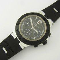 Bulgari Diagono Aluminium Chronograph Ac38ta Kautschukband...