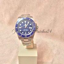Rolex Submariner White Gold Blue Dial 116619LB