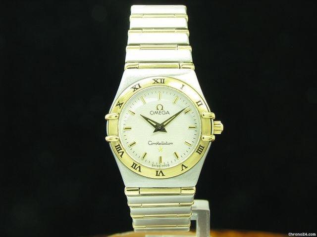 Omega Constellation 18kt 750 Gold   Edelstahl Damenuhr Ref... eladó 361 333  Ft Trusted Seller státuszú eladótól a Chrono24-en b6001aa511
