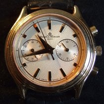 Baume & Mercier Milleis Chronograph Grand Modele 18kt Rose...