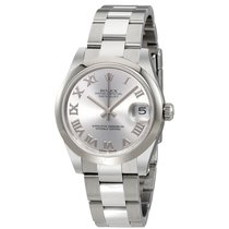 Rolex Oyster Perpetual Datejust Rhodium Dial Automatic Ladies...